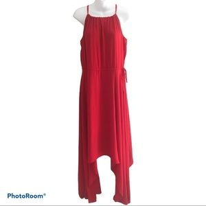 Express Red Maxi Dress Size Small Petite